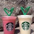 <p>This is probably the healthiest Frappuccino out of the bunch! The Yoghurt Frappuccino in Greece has Greek yogurt (of course) and comes in strawberry, banana, and honey flavors.</p>