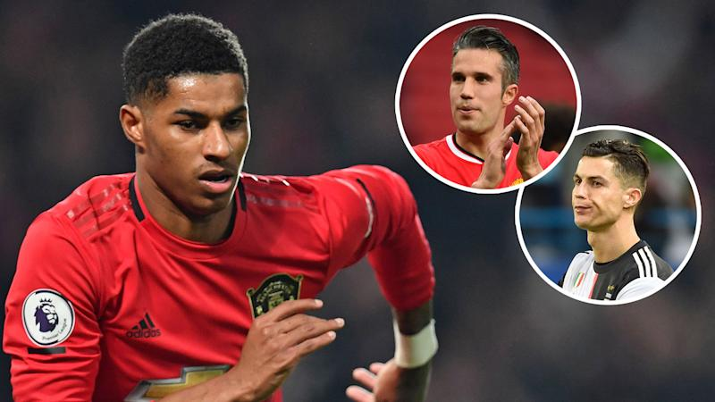 'Don't try to copy!' - Van Persie offers advice to Rashford amid Ronaldo comparisons