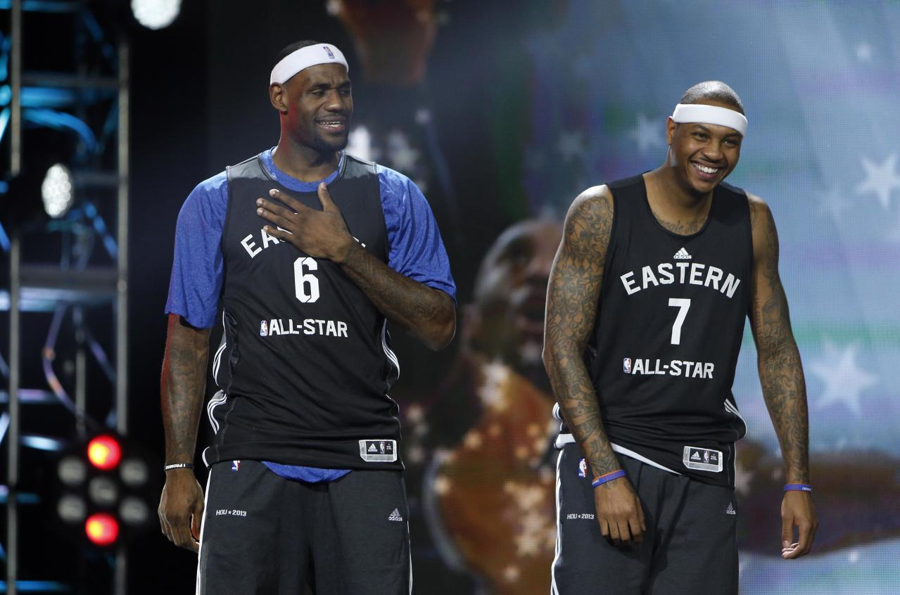 Heat stars reportedly mulling new contracts to add Carmelo Anthony, create Big 4
