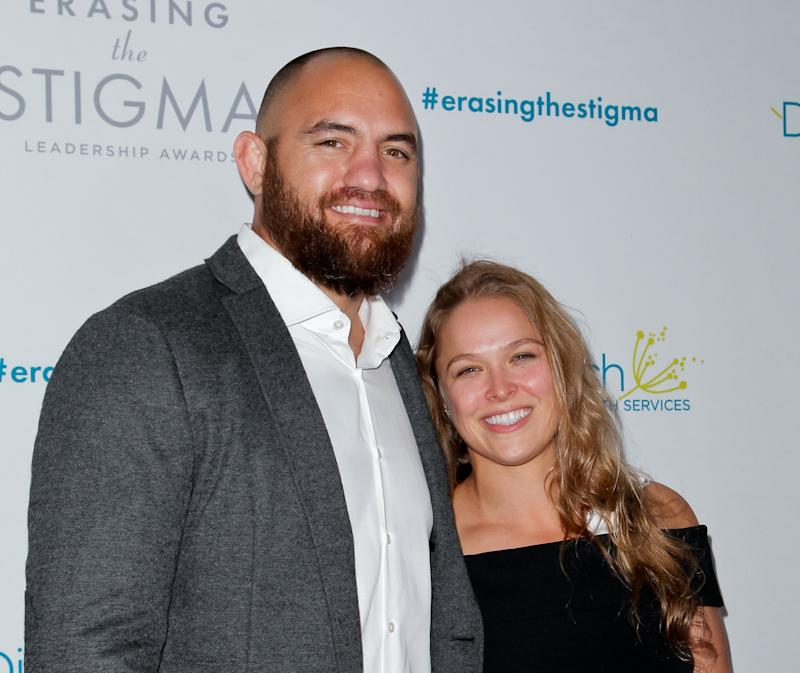 Ronda Rousey Is Engaged to Travis Browne