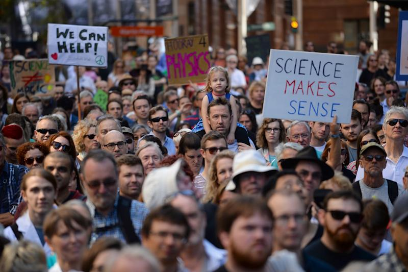 Watch Live: March For Science Protesters Rally in D.C.