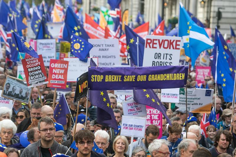 <strong>Thousands of pro- Remain supporters took to the streets of London on Saturday&nbsp;</strong> (Photo: SIPA USA/PA Images)