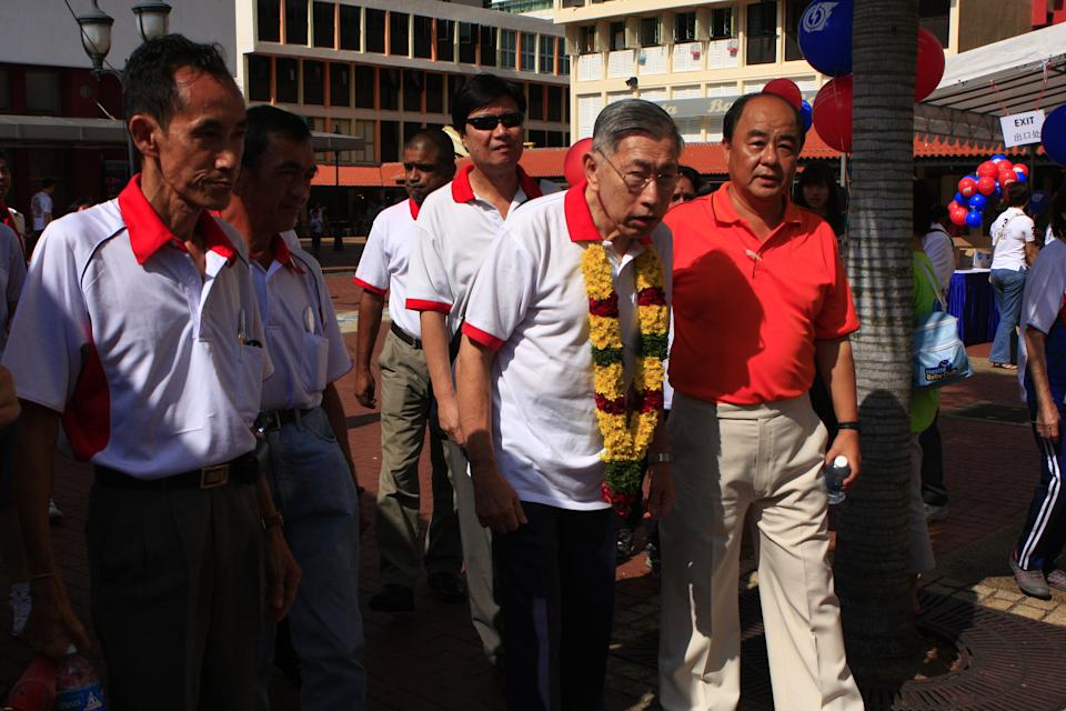 Chiam See Tong is expected to contest Bishan-Toa Payoh. (Yahoo! photo/ Henry Lim)