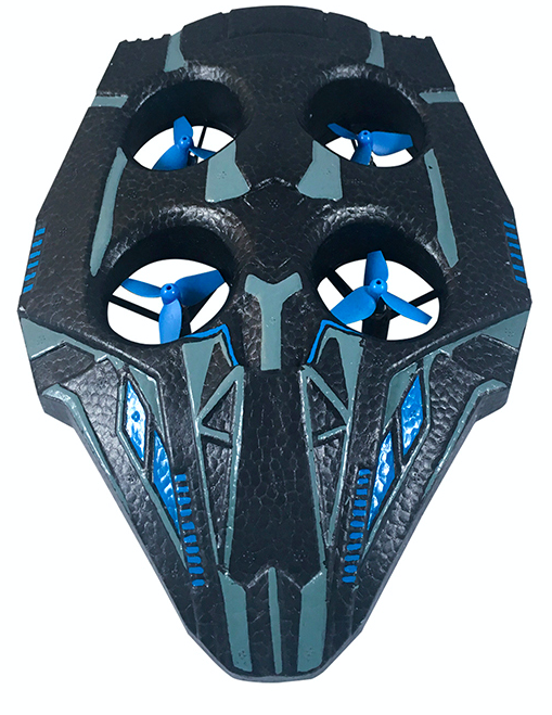 <p>After speeding around in Black Panther's Stealth Cruiser, take to the skies in the high-flying Talon Fighter, piloted by remote control. (Photo: Jakks) </p>
