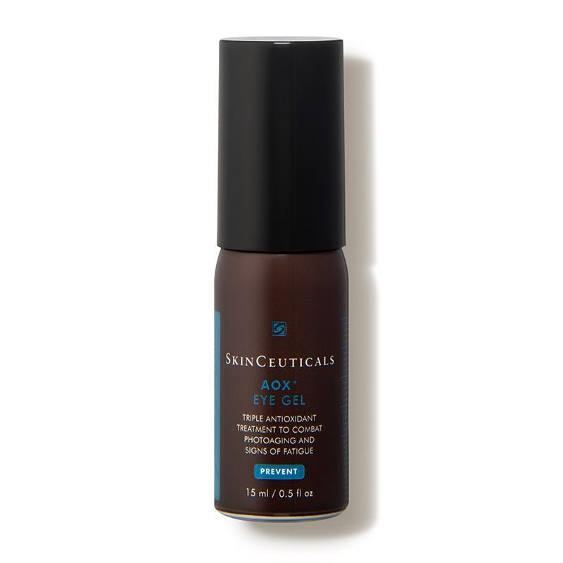 """<p><strong>SkinCeuticals</strong></p><p>dermstore.com</p><p><strong>$95.00</strong></p><p><a href=""""https://go.redirectingat.com?id=74968X1596630&url=https%3A%2F%2Fwww.dermstore.com%2Fproduct_AOX%2BEye%2BGel_36676.htm&sref=https%3A%2F%2Fwww.goodhousekeeping.com%2Fbeauty%2Fanti-aging%2Fg32402904%2Fbest-skinceuticals-products-reviews%2F"""" rel=""""nofollow noopener"""" target=""""_blank"""" data-ylk=""""slk:Shop Now"""" class=""""link rapid-noclick-resp"""">Shop Now</a></p><p>This eye gel <strong>absorbs quickly and gives an immediate tightening feel</strong>—and I like that it contains potent antioxidants like <a href=""""https://www.goodhousekeeping.com/beauty/anti-aging/g26840895/best-vitamin-c-serums/"""" rel=""""nofollow noopener"""" target=""""_blank"""" data-ylk=""""slk:vitamin C"""" class=""""link rapid-noclick-resp"""">vitamin C</a> to protect the thin eye area skin, Franzino says. </p>"""
