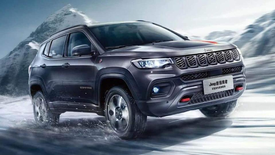 Jeep Compass (facelift) to be launched next month; bookings open