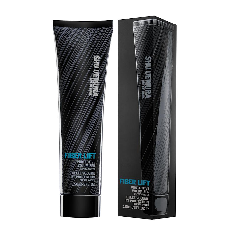 <p>Thanks to the ample amount of copolymers in the formula, which bulk up thin tendrils and impart a more-massive shape, a little of Shu Uemura's Fiber Lift can go a long way.</p>