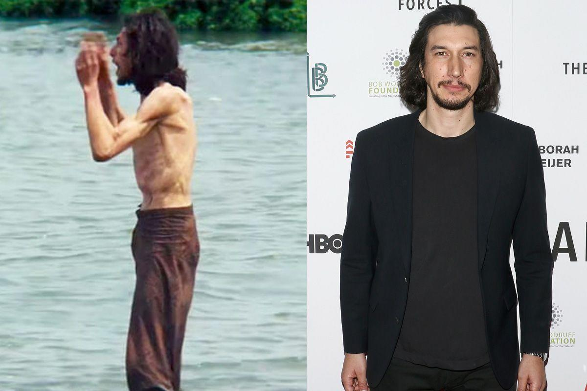 """<p>Driver said that his extreme weight loss was helpful to his """"process"""" as an actor while playing a 17th century Jesuit Priest alongside Andrew Garfield in Martin Scorsese's <i>Silence. """"</i>You're so hungry and so tired at some points that there's nothing you can do — you're not adding anything on top of what you're doing. You only have enough energy to convey what you're doing, so it's great,"""" Driver told<i> <a rel=""""nofollow"""" href=""""http://www.interviewmagazine.com/film/adam-driver-cover#_"""">Interview Magazine</a>. </i>""""I can't control what's happening in scenes, but I could control when I ate food. And that visual part of the storytelling, I don't think I've ever taken it to the extreme before."""" (Photos: Paramount Pictures/Getty Images) </p>"""
