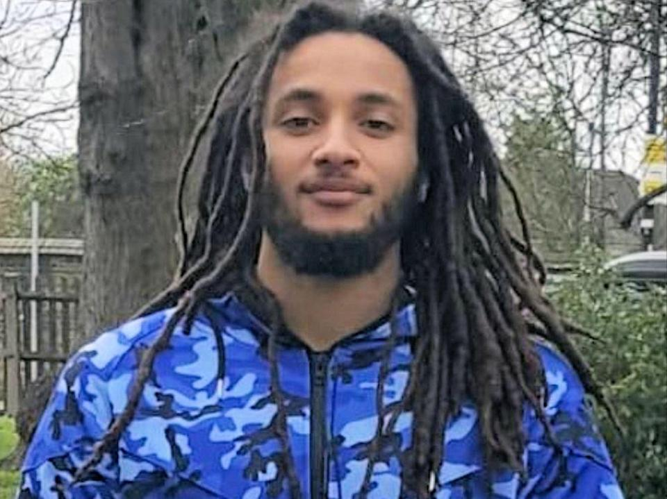<p>Nimroy Hendricks has been named by police as the man who was found with stab wounds in Crawley on Tuesday</p> (PA)