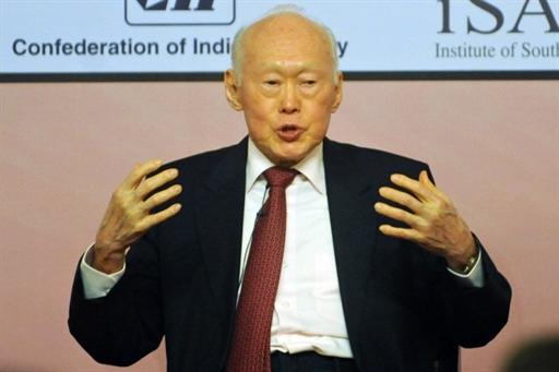 Minister Mentor Lee Kuan Yew says the People's Action Party will remain the strongest party in Singapore. (File photo)