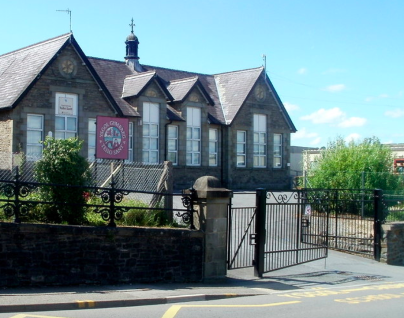 Year 4 pupils at Teilo Sant school in Llandeilo, Carmarthenshire, were seen getting upset by name calling due to the game (Wales News Service)