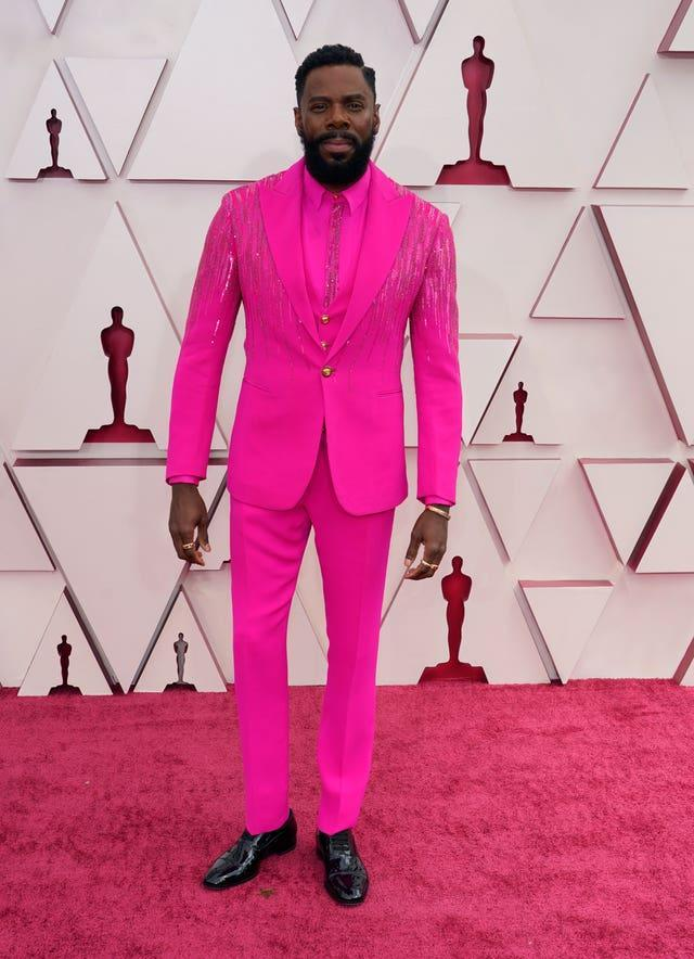 Colman Domingo at the 93rd Academy Awards