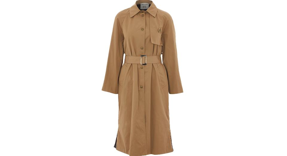 SEMICOUTURE Brown Trench Coat