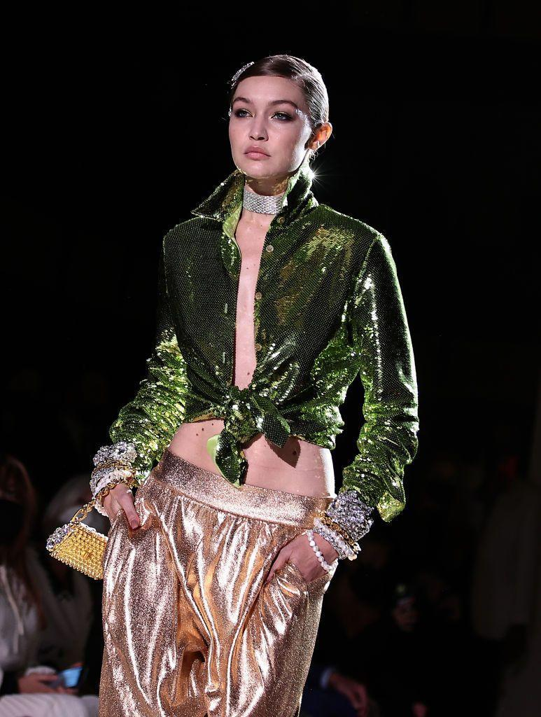 <p>Gigi Hadid is a regular runway maven at this point, kicking off this month at Ralph Lauren. Check out her all time best runway moments right here.</p>