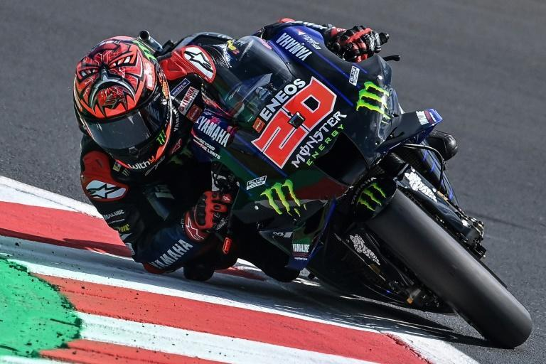 Victory for Yamaha's Fabio Quartararo at the GP of the Americas will take the Frenchman to the brink of a first world title (AFP/ANDREAS SOLARO)