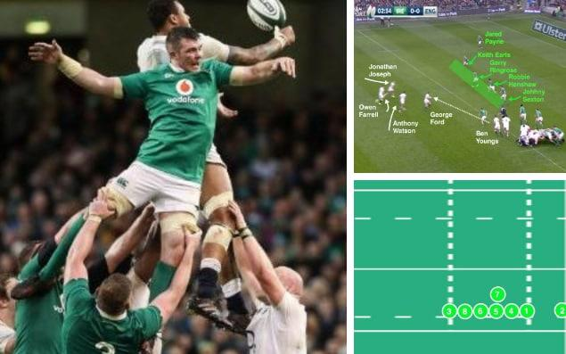 Standing tall: Peter O'Mahony was exceptional for Ireland