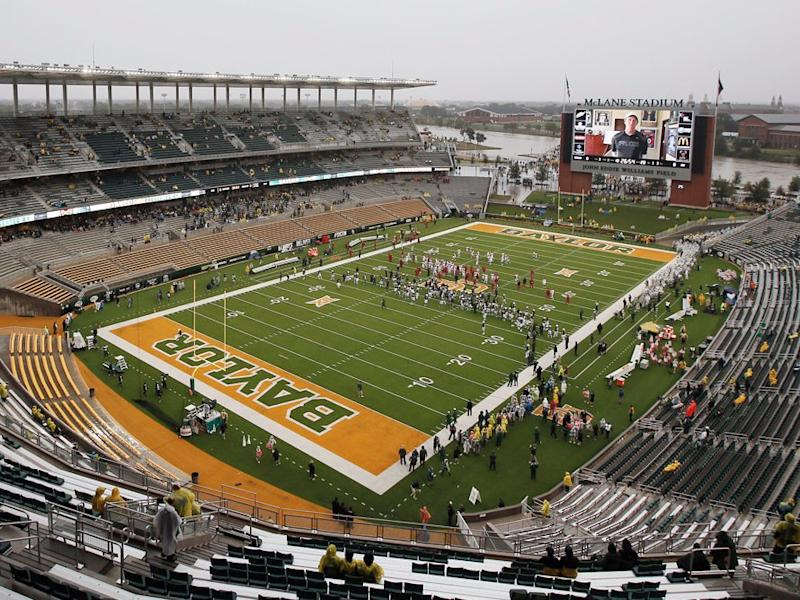 Lawsuit against Baylor alleges grid player gang rapes, dog fights