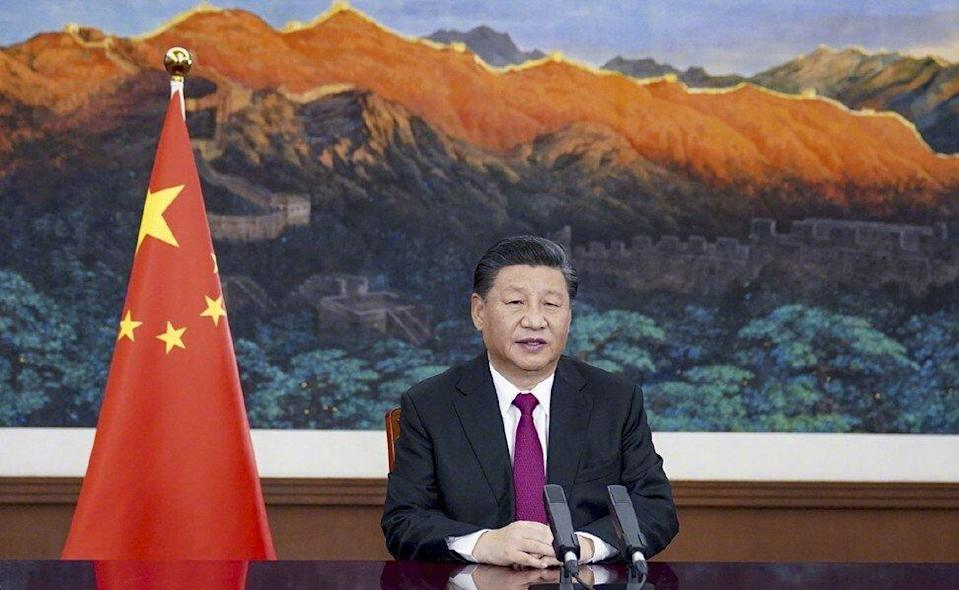 China's President Xi Jinping called for world leaders to put aside the 'misguided approach of antagonism and confrontation' in a January 25 speech to the World Economic Forum. Photo: Xinhua