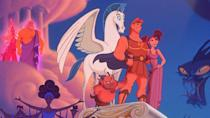 """<p><strong>Hercules</strong></p><p>disneyplus.com</p><p><a href=""""https://go.redirectingat.com?id=74968X1596630&url=https%3A%2F%2Fwww.disneyplus.com%2Fmovies%2Fhercules%2F2e02rZ2TfE0f&sref=https%3A%2F%2Fwww.redbookmag.com%2Flife%2Fg34929170%2Fbest-disney-movie1%2F"""" rel=""""nofollow noopener"""" target=""""_blank"""" data-ylk=""""slk:WATCH NOW"""" class=""""link rapid-noclick-resp"""">WATCH NOW</a></p><p>When you think of 90s Disney music, hits from <em>Pocahontas</em>, <em>The Lion King</em>, and <em>Aladdin</em> probably come to mind first. But Hercules is seriously underrated — especially for its music. The story is based on the Greek mythology, but the soundtrack is modern with the muses played by a gospel choir.</p>"""