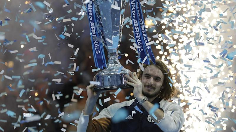 Stefanos Tsitsipas has won the biggest event of his career to date with victory at the ATP Finals