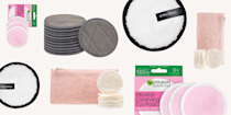 """<p class=""""body-dropcap"""">A quick (but v important) PSA for all you makeup wipe lovers and single-use cotton round users out there: It's 100 percent time you ditch your waste-making habits and make the switch to reusable cotton rounds and makeup removers. (Trust me, I've done it and my only regret is the fact that I didn't do it sooner.) Not only do the reusable options work just as well, they're also WAY more more eco-friendly since they <strong>can be used literally hundreds of times before you either have to toss or recycle them, and they're also typically made with sustainable and <a href=""""https://www.cosmopolitan.com/style-beauty/beauty/g20126849/organic-skin-care-brands-products/"""" rel=""""nofollow noopener"""" target=""""_blank"""" data-ylk=""""slk:organic"""" class=""""link rapid-noclick-resp"""">organic</a> materials</strong>. Oh, and did I mention you'll save a ton of $$ when you stop having to replace your disposable wipe stash all the time too? Ahead, the nine best reusable cotton rounds for removing makeup, cleaning your face, applying your skincare products, and more.</p>"""