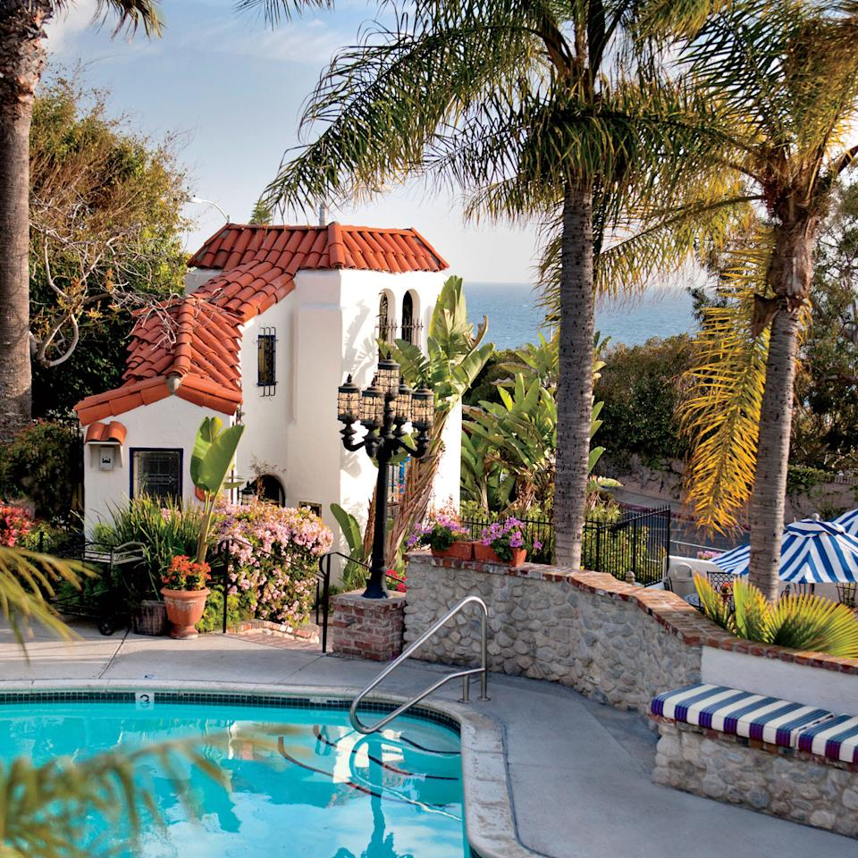 "<p>Stop the Southern California presses: <em>Where</em> one stays in <a rel=""nofollow"" href=""http://www.coastalliving.com/travel/americas-happiest-seaside-towns/happiest-seaside-towns-laguna-beach""><strong>Laguna Beach</strong></a> may now finally be as memorable as <em>that</em> one stays in Laguna Beach. It's true. From its early days as an art colony, Laguna's natural beauty has often outshone the hotels that dot the town's seven miles of tawny, hillside-guarded coves. And while high-profile resorts like the <a rel=""nofollow"" href=""https://www.montagehotels.com/lagunabeach/""><strong>Montage</strong></a> have earned their moments in the sun, it's only recently that small hotels of high style have emerged along the streets of Laguna itself. The leader of that hotel pack is <a rel=""nofollow"" href=""http://www.casalaguna.com""><strong>Casa Laguna Hotel & Spa.</strong></a> A popular hotel for decades, Casa Laguna is a Mediterranean-inspired cluster of 23 guest suites perched right above Pacific Coast Highway.</p>"
