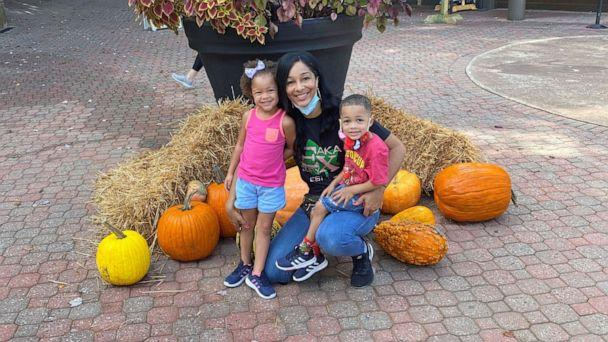 PHOTO: Tamika Parrish, of Atlanta, poses with her 4-year-old twins. (Tamika Parrish)