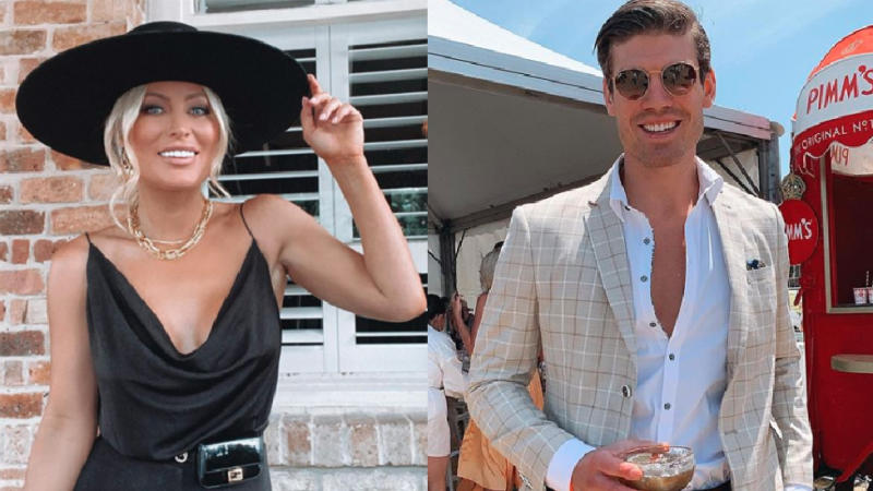 Keira Maguire and Matt Zukowski both attend the Portsea Polo way back in January
