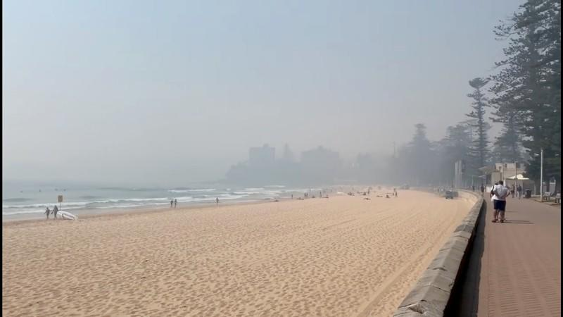 Sydney lives up to 'big smoke' tag as bushfire haze covers city