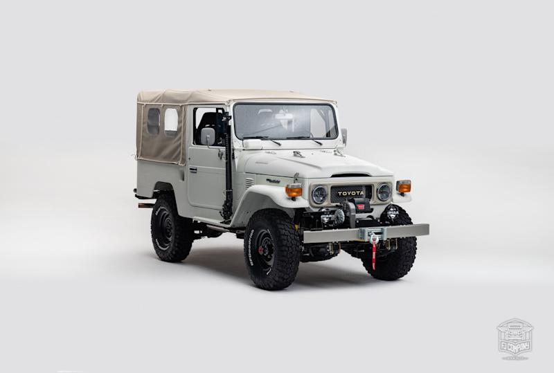 Old glory gets an upgrade with this Toyota FJ Land Cruiser restoration