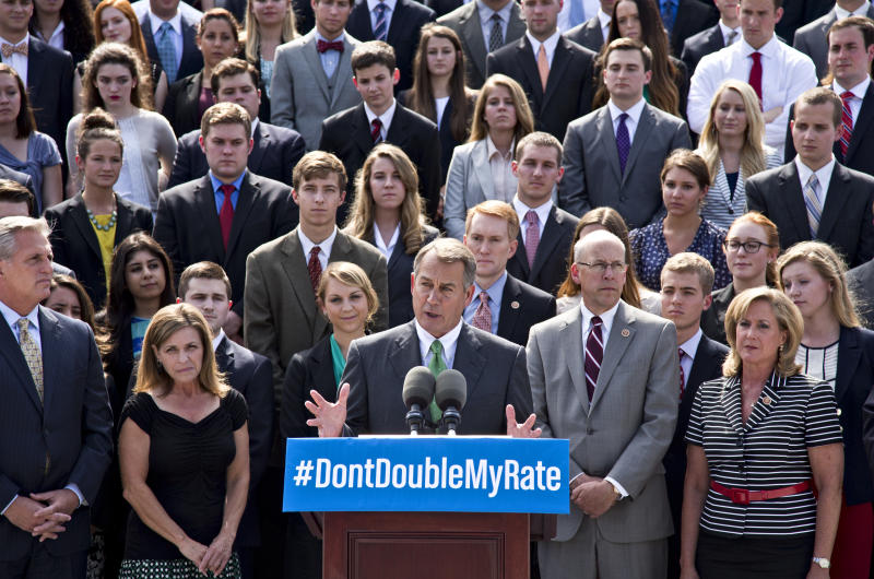 Senate fails to keep student loan rates low