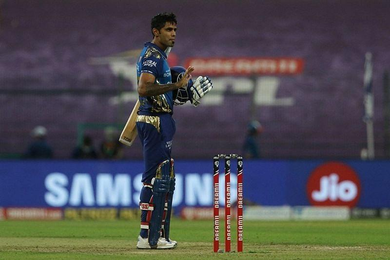Suryakumar Yadav's belligerent knock of 79 runs guided MI to a 5-wicket win over RCB in a crucial IPL match on Wednesday.