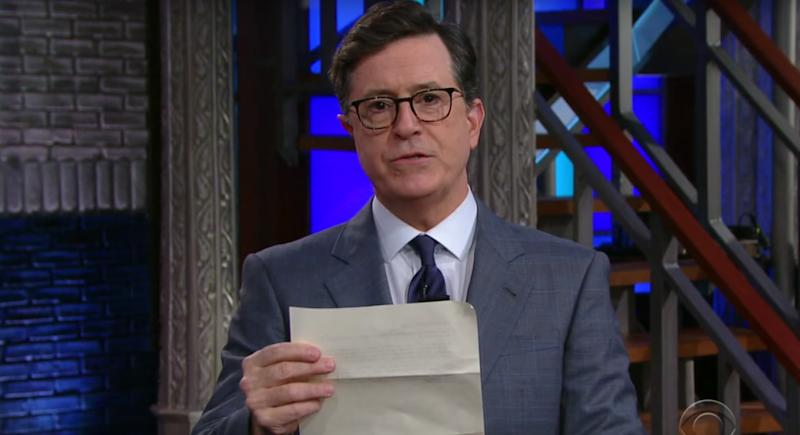 Stephen Colbert Roasts Donald Trump's Budget With Simple Math