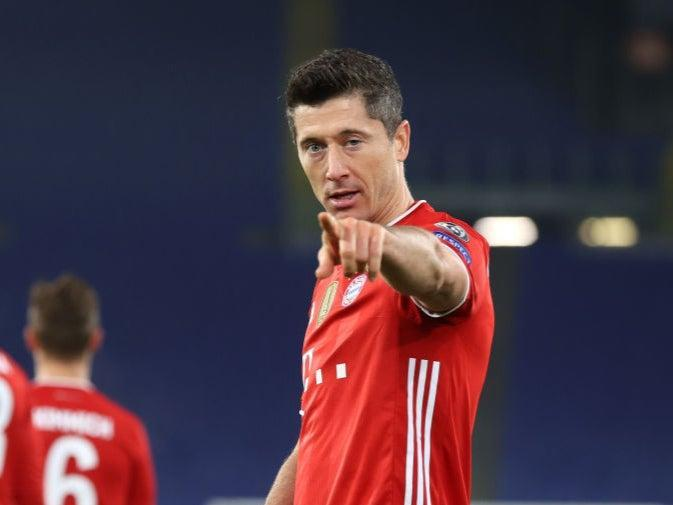<p>Lewandowski will be hoping to add to his goal tally in Europe this evening</p> (Getty Images)