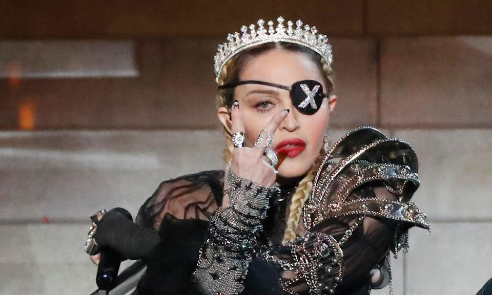 Madonna released her 14th studio album in 2019 as Madame X came to life. She even brought her alter-ego to<em> Eurovision</em>'s half-time show for a special performances which was met with a very mixed reception. (Michael Campanella/Getty Images)