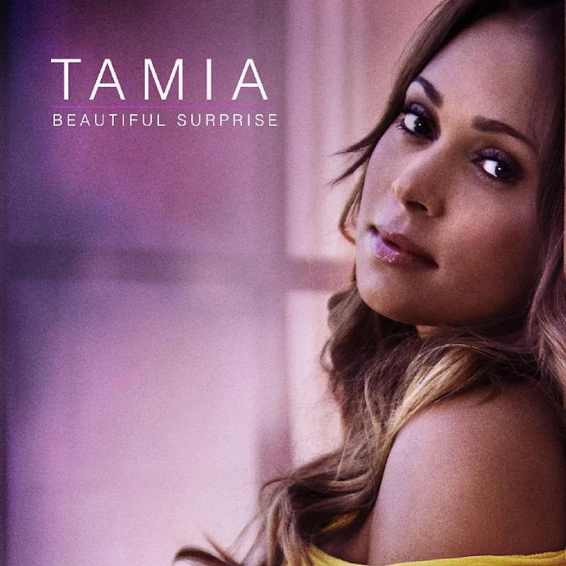 """This CD cover image released by Plus 1 Music Group shows the latest release by Tamia, """"Beautiful Surprise."""" (AP Photo/Plus 1 Music Group)"""