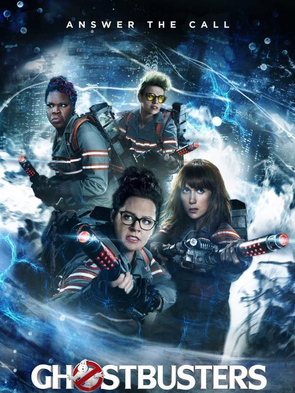 Poster film Ghostbusters. (Foto: Dok. Columbia Pictures/ Village Roadshow Pictures/ IMDb)