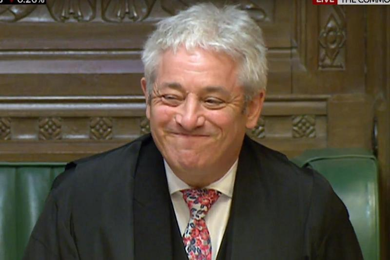 Speaker John Bercow ordered Ian Blackford out of the chamber