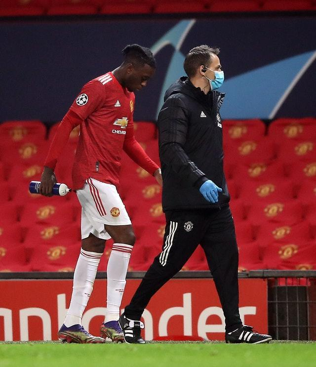 Aaron Wan-Bissaka will miss the trip to Everton