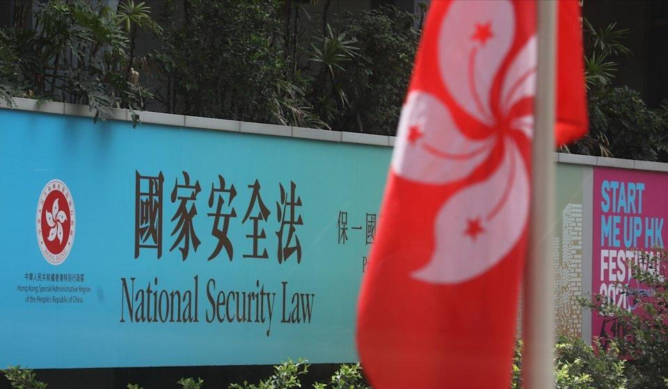 The institute cited the Beijing-imposed national security law as one reason for its less than optimistic projection. Photo: Dickson Lee