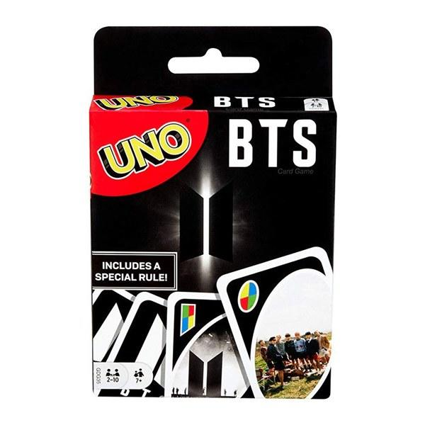"""It isn't the holiday season without some good ol' family board games, so make sure you include BTS's UNO game into the repertoire of fun. $8, Amazon. <a href=""""https://www.amazon.com/UNO-Licensed-Zelda-Card-Game/dp/B07FWHJHTH/ref=sr_1_1?"""">Get it now!</a>"""