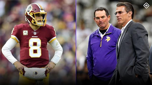 The Vikings' Kirk Cousins signing in NFL free agency is a splurge. But a look at the history of QBs under GM Rick Spielman in Minnesota helps explain why the Vikings are willing to take a chance on Cousins.