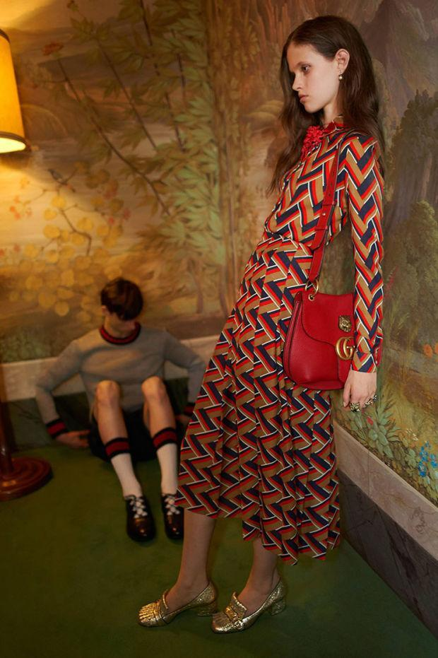 """<p>Gucci might be the current darling of the fashion world, but that doesn't make it immune from controversy. Two stills and a video featuring models in bright dresses from the Cruise 2016 collection have been taken to task by the United Kingdom's Advertising Standards Authority (ASA). The independent watchdog keeps tabs on the appropriateness of campaigns, with do-gooders filing complaints that are subsequently investigated by the organization. </p><p>The individual questioned """"whether or not models were unhealthily thin"""" and ASA agreed, declaring that the """"ad must not appear again in its current form."""" In response, Gucci said that the ad targeted a """"sophisticated audience"""" and noted that the debate at hand """"was, to some extent, a subjective issue as to whether a model looked unhealthily thin."""" Gucci added that the models's """"""""bones"""" weren't visible, their makeup was natural rather than heavy (which might have accentuated the impression of thinness), lighting was uniform and warm to ensure there were no hollows caused by shadows and their clothes were not revealing. The visual parts of their bodies appeared toned and slim."""" </p>"""