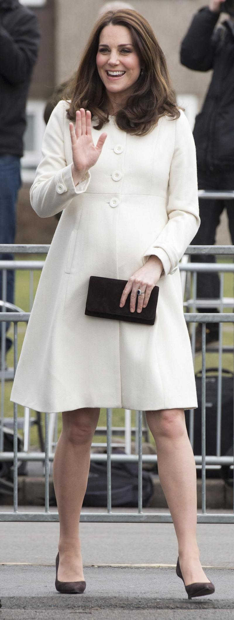 Kate Middleton is known for her thrift ways. Photo: Getty Images