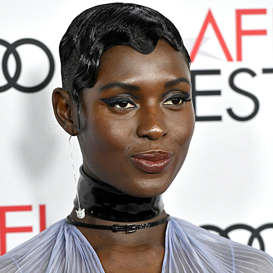 """<p>""""This showcases how, even on short hair, you can do something dramatic and glamorous,"""" says Skervin of Jodie Turner-Smith's finger waves. This look is great if you're wearing a beaded column gown, flapper-style dress, or any other outfit (it doesn't have to be a dress!) with a vintage feel.</p> <p>As it's a more difficult look to achieve at home, secure an appointment with a hairstylist in advance. A lot of strong hold gel is a must to keep it in place.</p>"""