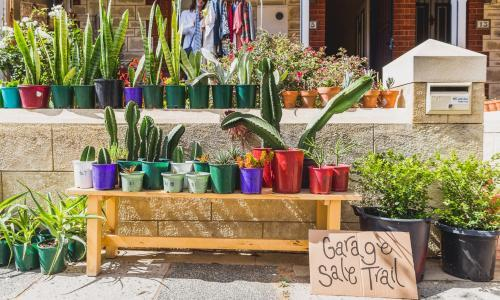 Garage sale secrets: go in with love and low expectations