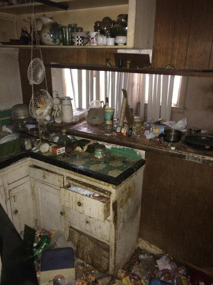"""<p>Kenihan described the original kitchen as """"gnarly"""" and """"madness."""" Mold, grease, dirt and garbage covered every inch of the place. <i>(Photo: Charmaine David for Kenihan Development)</i><br></p>"""