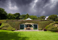 "<p>Underhill is an underground ""hobbit house"" and Britain's first modern earth-sheltered home. (PA) </p>"