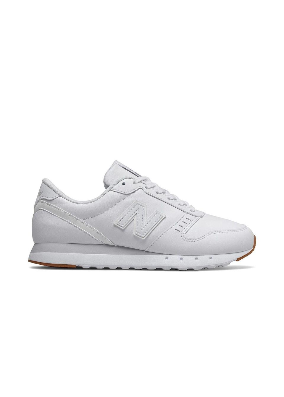 "<p><strong>New Balance</strong></p><p>kohls.com</p><p><strong>$48.74</strong></p><p><a href=""https://go.redirectingat.com?id=74968X1596630&url=https%3A%2F%2Fwww.kohls.com%2Fproduct%2Fprd-3918997%2Fnew-balance-311-v2-womens-sneakers.jsp&sref=https%3A%2F%2Fwww.seventeen.com%2Ffashion%2Ftrends%2Fg32826210%2Fclassic-white-sneakers%2F"" rel=""nofollow noopener"" target=""_blank"" data-ylk=""slk:Shop Now"" class=""link rapid-noclick-resp"">Shop Now</a></p><p>The perfect pair of shoes to go with all those sweatsuits you've been wearing on repeat? Vintage-inspired New Balance white sneakers, of course. Don't forget to wear white tube socks. </p>"
