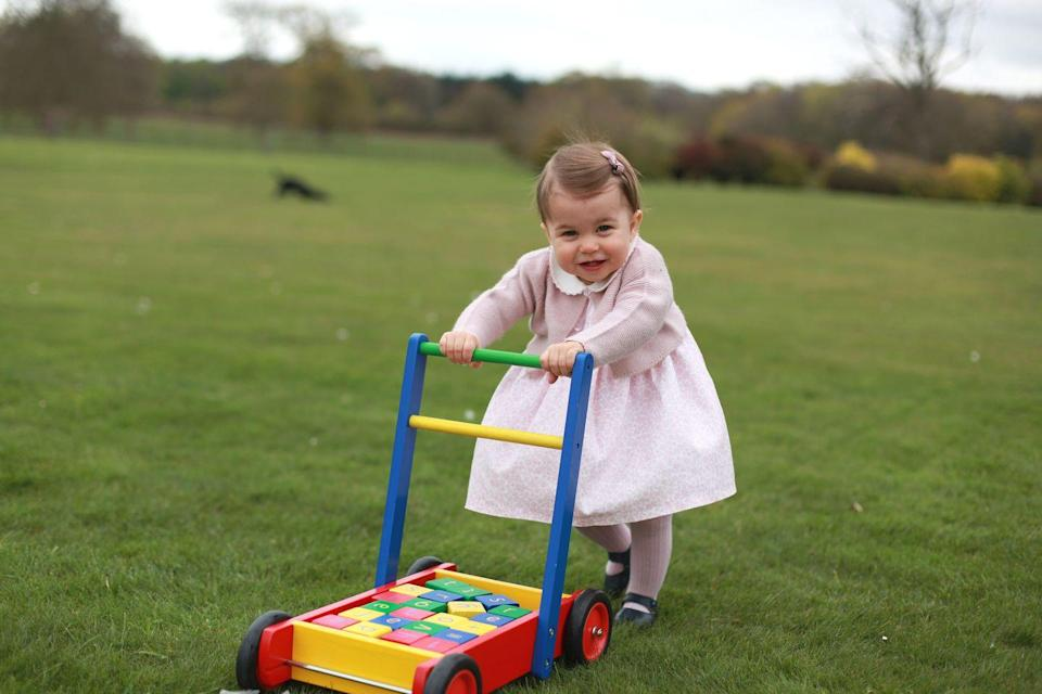 <p>Ahead of her first birthday, The Duke and Duchess of Cambridge release an adorable series of photos capturing Princess Charlotte at Anmer Hall.</p>